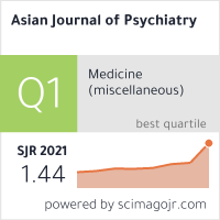 Asian Journal of Psychiatry