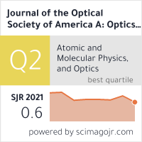 Journal of the Optical Society of America A: Optics and Image Science, and Vision