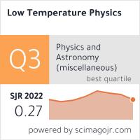 SCImago-статистика журнала Физика низких температур