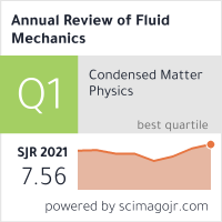 Annual Review of Fluid Mechanics