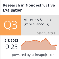 Research in Nondestructive Evaluation