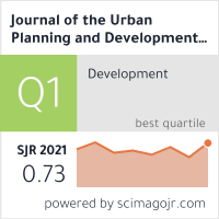 Journal of the Urban Planning and Development Division, ASCE