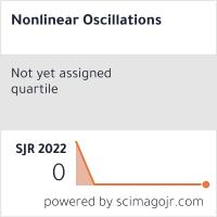 SCImago-статистика журнала 'Нелінійні коливання'