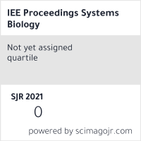 IEE Proceedings Systems Biology