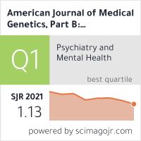 American Journal of Medical Genetics, Part B, Neuropsychiatric Genetics