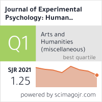 Journal of Experimental Psychology: Human Perception and Performance
