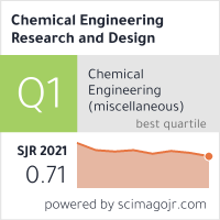 Chemical Engineering Research And Design