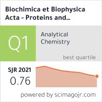 Biochimica et Biophysica Acta - Proteins and Proteomics