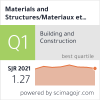 Materials and Structures/Materiaux et Constructions