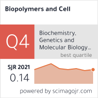 SCImago-статистика журнала Biopolymers and Cell