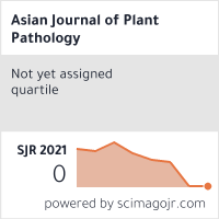 Asian Journal of Plant Pathology