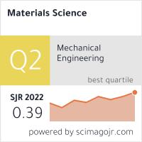 SCImago-статистика журнала Фізико-хімічна механіка матеріалів