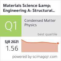Materials Science & Engineering A: Structural Materials: Properties, Microstructure and Processing