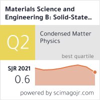 Materials Science and Engineering B: Solid-State Materials for Advanced Technology