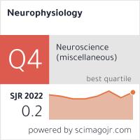 SCImago-статистика журнала Нейрофизиология