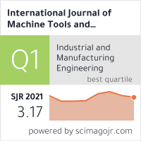International Journal of Machine Tools and Manufacture