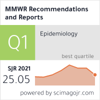 MMWR. Recommendations and reports : Morbidity and mortality weekly report. Recommendations and reports / Centers for Disease Control
