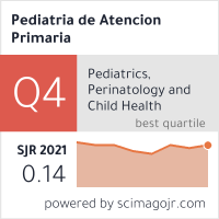 SCImago Journal & Country Rank - Pediatría de Atención Primaria
