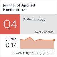 Journal of Applied Horticulture- An Internationl Horticulture Journal