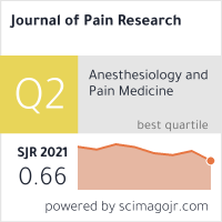 Journal of Pain Research - Dove Press Open Access Publisher