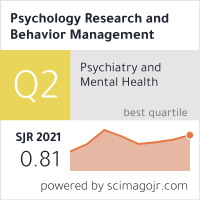 Psychology Research and Behavior Management - Dove Press