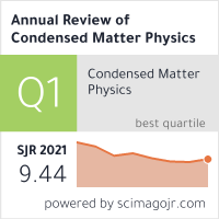 Annual Review of Condensed Matter Physics