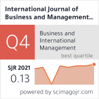 International Journal Of Business And Management Science