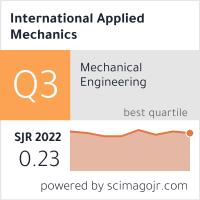 SCImago-статистика журнала Прикладная механика
