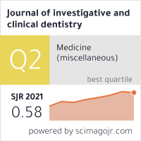Journal of investigative and clinical dentistry