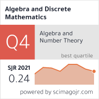 SCImago-статистика журнала Algebra and Discrete Mathematics