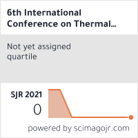 6th International Conference on Thermal Engineering Theory