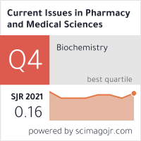 Current Issues In Pharmacy And Medical Sciences