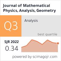 SCImago-статистика журнала 'Журнал математической физики, анализа, геометрии'