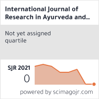 International Journal of Research in Ayurveda and Pharmacy