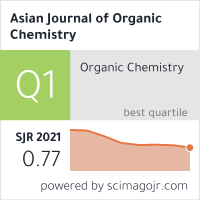 Asian journal of organic chemistry scimago journal country rank maxwellsz