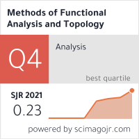 SCImago-статистика журнала  Methods of Functional Analysis and Topology