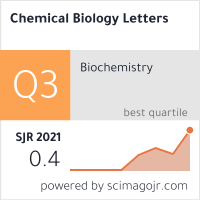 Chemical Biology Letters on SCImago Journal & Country Rank