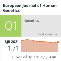 European Journal of Human Genetics