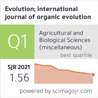 Evolution; international journal of organic evolution