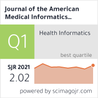 Journal of the American Medical Informatics Association : JAMIA