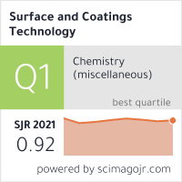 Surface and Coatings Technology