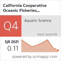 a study of ocean plankton by california cooperative fisheries investigation ccfi California cooperative oceanic fisheries investigations california current ecosystem other liu, jian researchers davison, peter lara-lopez, ana date collected 2009 to 2015 date issued 2016 cite this work koslow, j anthony lara-lopez, ana davison, peter liu, jian (2016): california cooperative oceanic fisheries.