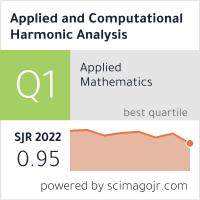 Applied and Computational Harmonic Analysis