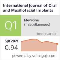 International Journal of Oral and Maxillofacial Implants