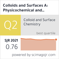 Colloids and Surfaces A: Physicochemical and Engineering Aspects