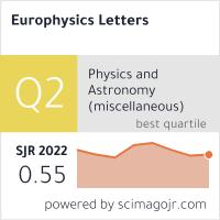 Europhysics Letters