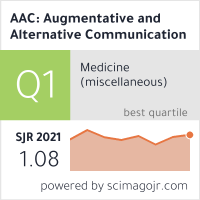 AAC: Augmentative and Alternative Communication