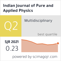 Indian Journal of Pure and Applied Physics