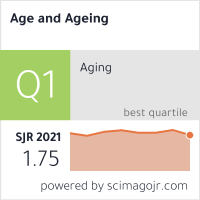 Age and Ageing