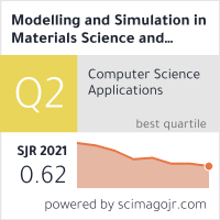 Modelling and Simulation in Materials Science and Engineering